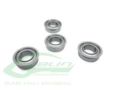 ABEC-Flanged Bearing 5 x 13 x 4(4pcs) - G420, 500