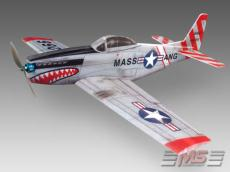 Mustang P-51 H semi-scale plane  EPP
