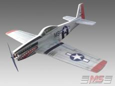 Mustang P-51 H XL semi-scale plane  EPP